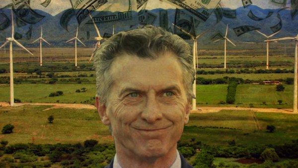 Denuncian a Macri por el negociado de los parques eólicos