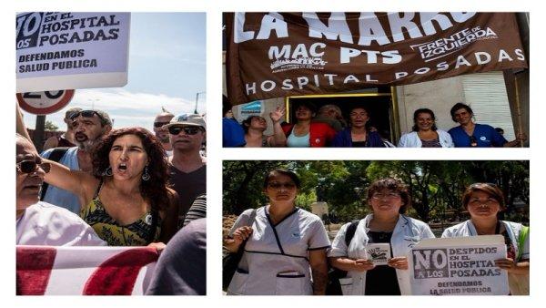 """""""Ganar las calles por nuestros derechos, contra los despidos y para exigir #AbortoLegalYa"""""""