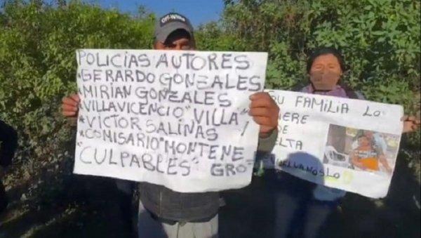 Desaparición de Luis Espinoza: dos policías ya tenían denuncias por la muerte de un joven