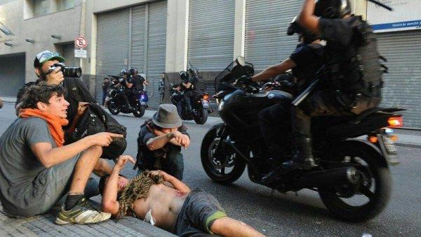 """El policía que atropelló al cartonero: """"Mato terroristas villeros"""""""
