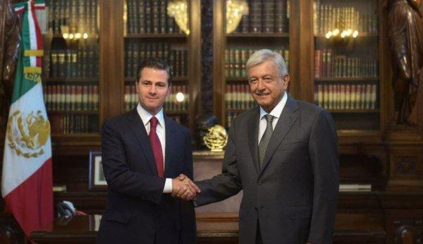 AMLO tras reunión con EPN: serán prioridades estabilidad económica, paz y tranquilidad