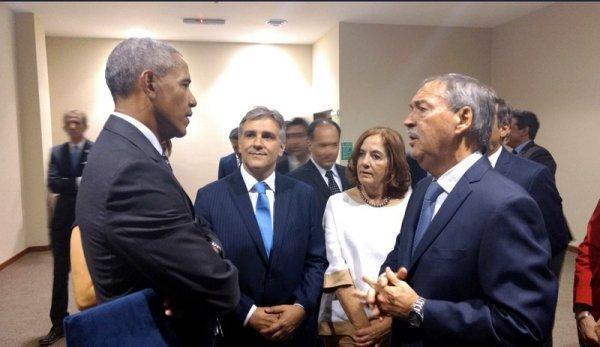 """Obama agradeció """"el esfuerzo"""" de Macri por """"reconectar a la Argentina con el mundo"""""""