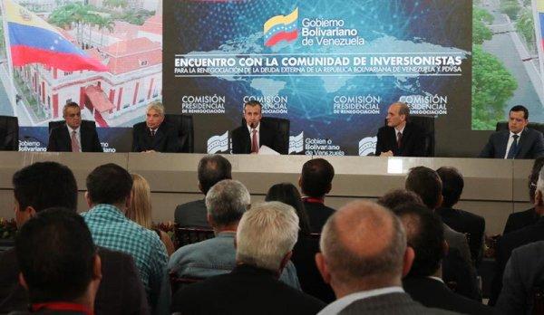 Sin resultados, reunión de Venezuela con bonistas para renegociar la deuda expone más la crisis