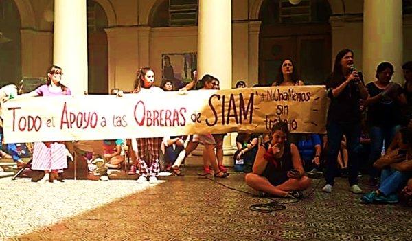 Se multiplica el apoyo a las obreras de Siam