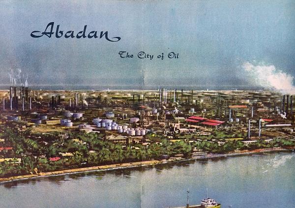 La Anglo-Iranian Oil Company en Abadán.