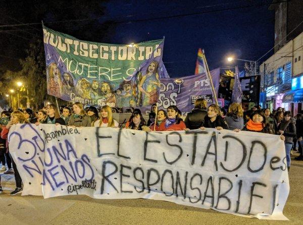 Río Negro: miles en las calles por #NiUnaMenos y #AbortoLegalYa