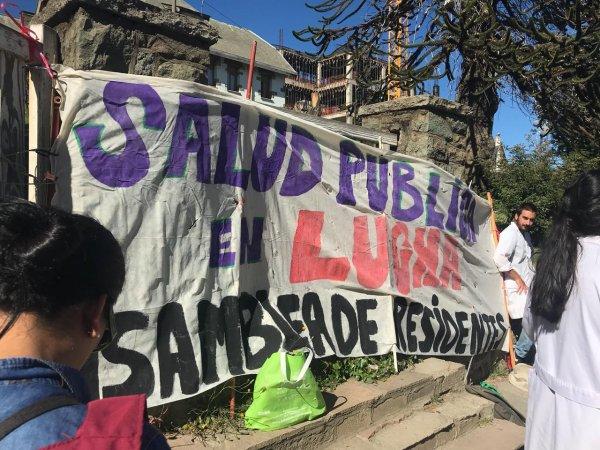 Paro de residentes en hospitales de Río Negro