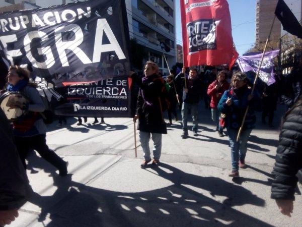 Paro docente: marcharon en Neuquén en apoyo a la lucha de Chubut