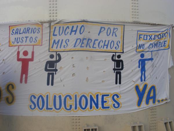 La lucha de las maquilas en Juárez