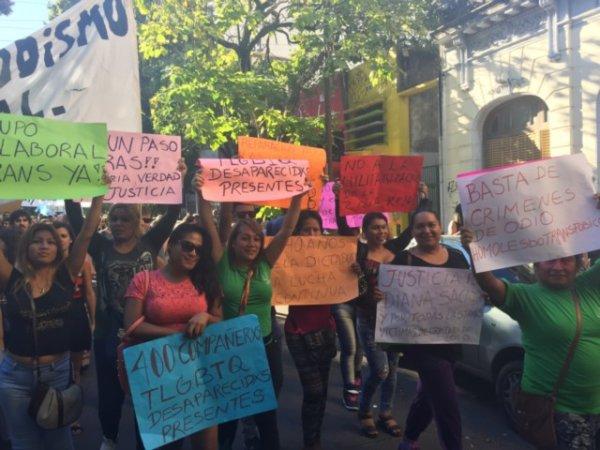 La Plata: movilizaron por justicia para Angie Velázquez