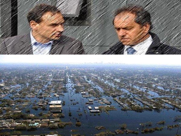 El día que Scioli quiso esconder a los muertos de la inundación de La Plata