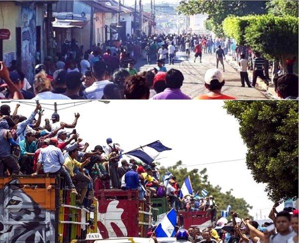 Contra el Gobierno de Ortega y la derecha empresarial proimperialista