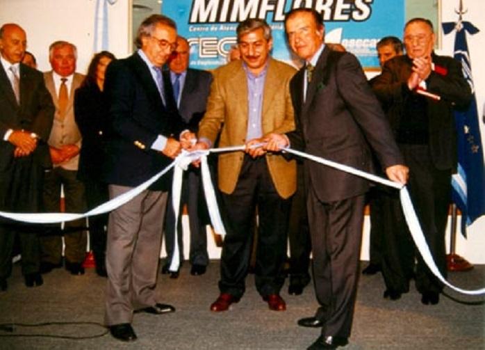Rodolfo Daer, Secretario General de la CGT entre 1996 y 2000, impulsor de la candidatura de Menem.