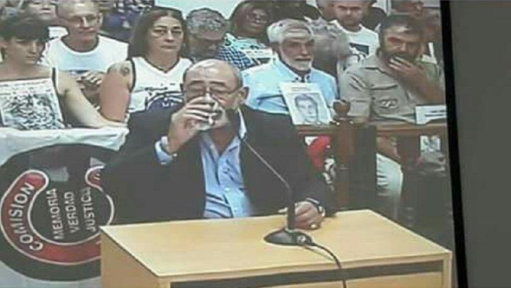 Carlos Propato, durante su declaración en el Tribunal Nro 1 de San Martín
